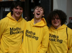Maths buskers