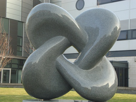 Willmore surface sculpture
