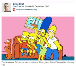 Simon Singh and Simpsons