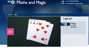 Maths and Magic Radio 4