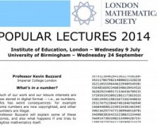 LMS Popular Lectures