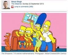 Simon Singh and the Simpsons