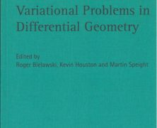 New book – Variational Problems in Differential Geometry